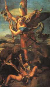 st-michael-trampling-the-dragon-raphael